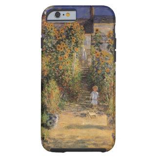 Artist's Garden at Vetheuil by Monet, Vintage Art Tough iPhone 6 Case