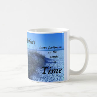 ARTISTS LEAVE FOOTPRINTS FURGASON COFFEE MUG