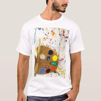 Artists Paint Splatter And Pallet of Paint T-Shirt