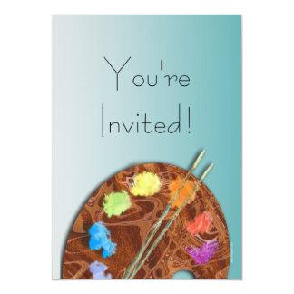 Artist's Palette Event Invitation