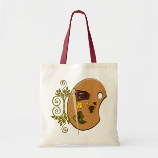 Artists Palette Tote Bag