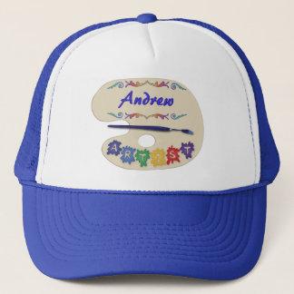 Artist's Pallet Trucker Hat