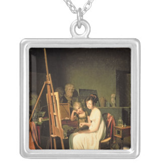 Artist's Studio Silver Plated Necklace