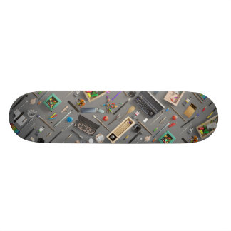 Artist's supplies 20 cm skateboard deck