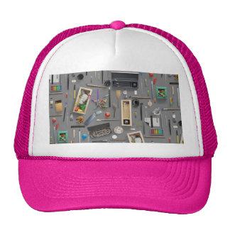 Artist's supplies cap