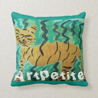 Artpetite Wild Tiger Pillow
