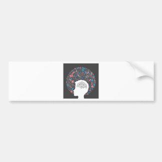 Arts a head2 bumper sticker