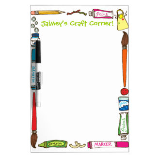 Arts & Crafts Custom Dry Erase Board