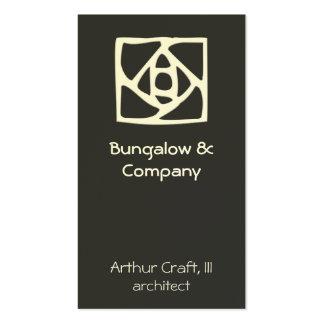 Arts & Crafts Ornament (flower) Pack Of Standard Business Cards