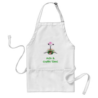 Arts & Crafts Pet Monster Design Adult Apron