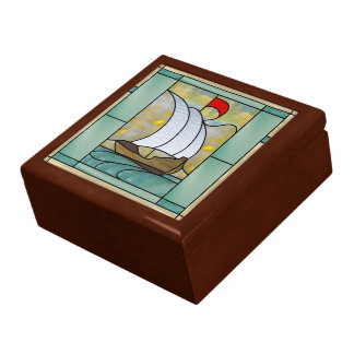 Arts & Crafts Treasure Keeper Box Large Square Gift Box
