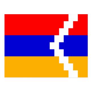 Artsakh (Nagorno-Karabakh) Flag Postcard