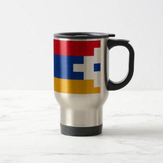 Artsakh (Nagorno-Karabakh) Flag Travel Mug