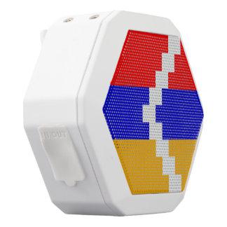 Artsakh (Nagorno-Karabakh) Flag White Bluetooth Speaker