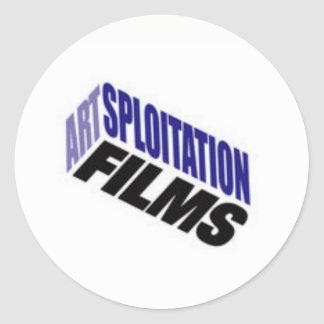 Artsploitation Films Stickers