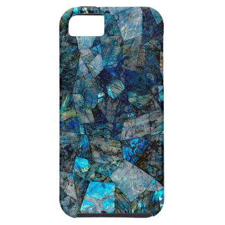 Artsy Abstract Labradorite Gems iPhone 5/5S Case