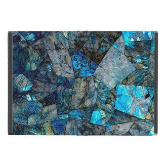 Artsy Abstract Labradorite Mineral Rock Gem Case iPad Mini Covers