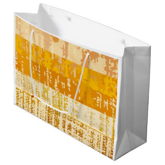 Artsy Abstract Style Large Gift Bag