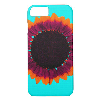 Artsy and Abstract Autumn Sunflower iPhone 8/7 Case