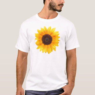 Artsy Autumn Beauty Sunflower T-Shirt