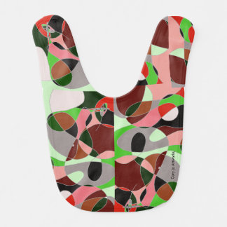 Artsy Bib - Abstract Art with the WOW Factor!