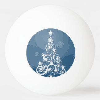 Artsy Blue Christmas Tree