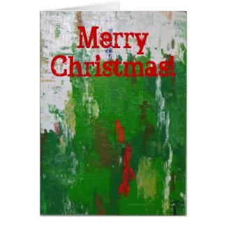 Artsy Christmas Card! Card