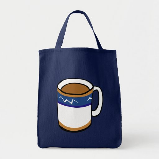 Artsy Coffee Cup Bags