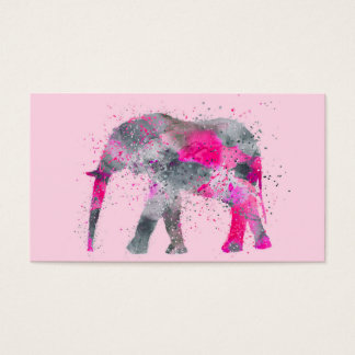 Artsy Elephant Business Card