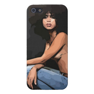 Artsy Ethnic Beauty - iPhone 5 Case