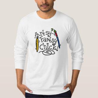 Artsy-Fartsy Chick T-Shirt