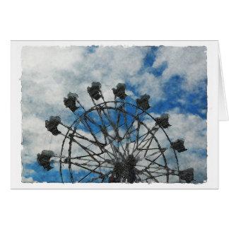 Artsy Ferris Wheel Cards