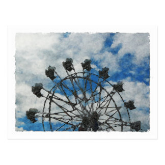 Artsy Ferris Wheel Postcards