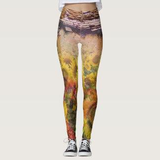 Artsy Garden Leggings