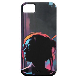 Artsy Girl Barely There iPhone 5 Case