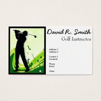 Artsy Golf Player