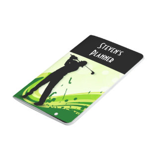 Artsy Golf Player Journals