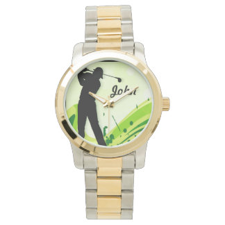 Artsy Golf Player Watch