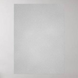 Artsy Gray Grainy Texture Poster