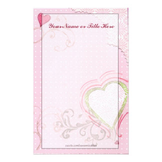 Artsy Heart Stationery