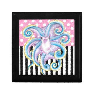 Artsy Octopus Pink Gift Box