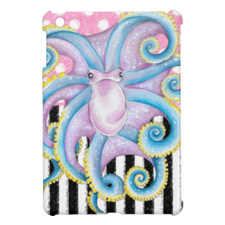 Artsy Octopus Pink iPad Mini Cases