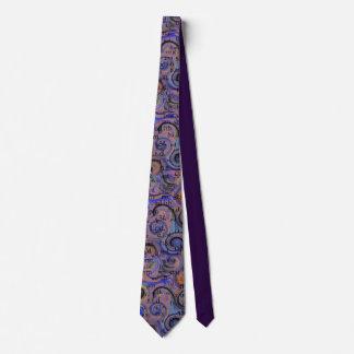 Artsy Pharmacist Abbreviations Tie Purple
