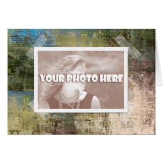 Artsy Photo Frame Card