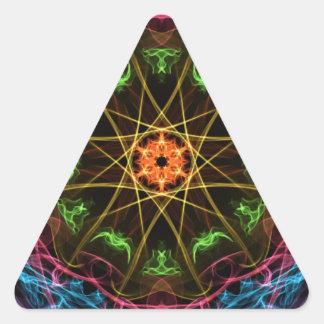 Artsy Triangle Sticker