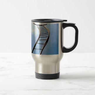 artwork climb to success and goal coffee mug