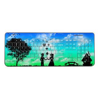 Artwork Designed Keyboard