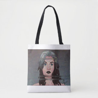 Artwork Tote Bag By Victoria Blouin