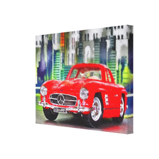 Artworks by Jean Louis Glineur - talk 300 SL Canvas Print