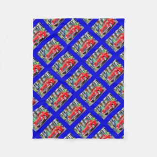 Artworks by Jean Louis Glineur: Talk 300 SL Fleece Blanket